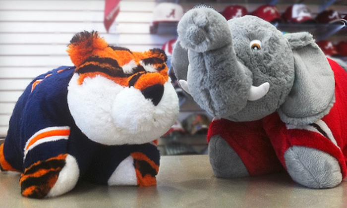 Sportsmania - Multiple Locations: $15 for $30 Worth of Alabama and Auburn Apparel and Accessories at Sportsmania
