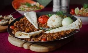 Syrische Specialiteiten Layali Halab: Délicieux menu syrien à emporter à partir de 14,99 € chez Layali Halab au centre de Gand