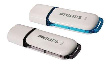 Lot de 2 Clés USB Philips – 16 ou 32 Go