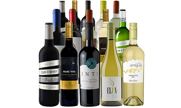 Splash Wines: $69 for a 15-Bottle Fall-Discovery Wine Pack with a Bonus Wine Thermometer from Splash Wines ($279.95 Value)