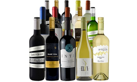 $69 for a 15-Bottle Fall-Discovery Wine Pack with a Bonus Wine Thermometer from Splash Wines ($279.95 Value)