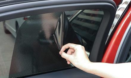 Pegatinas para las ventanas del coche que bloquean la luz y los rayos solares