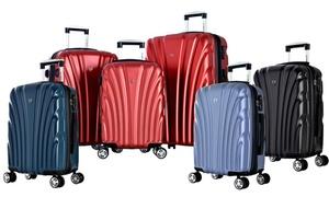 Olympia USA Voss Hardsided Dual Spinner Luggage (Multiple Sizes)