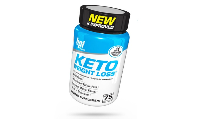 Bpi Sports Keto Weight Loss Supplement 75 Count