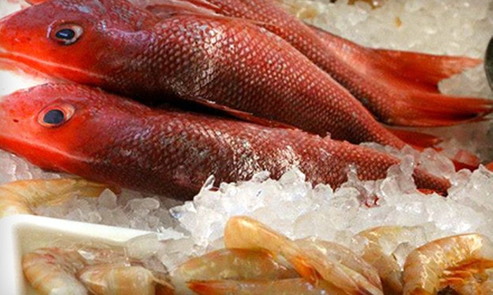 Hooked - Glenbrook: $20 for $40 Worth of Seafood Market Items at Hooked