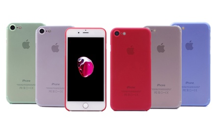 Ultradünnes Hardcase für iPhone 7 und 7 Plus in der Farbe der Wahl