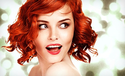 Haircut and Styling Package with Options for Partial or Full Foil Highlights at Alfonso Hair Salon (Up to 49% Off)