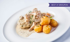 Restauracja u Myśliwych: Myśliwska uczta: zupa, danie główne i deser dla 2 osób za 104,99 zł i więcej opcji w restauracji U Myśliwych (-39%)