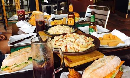 Menú para 2, 4 o 6 personas con entrante, principal y bebida desde 14 € en Levantina Good Food