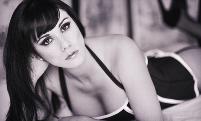 Dollhouse Studio - Modesto: Boudoir Photo Shoot for One or Boudoir-Photo Party with for Up to Four with Image CD at Dollhouse Studio (Up to 77% Off)