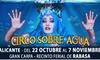 Circo sobre Agua en Alicante