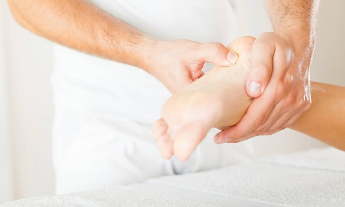 Joy Foot Reflexology - Sharpstown: 60-Minute Foot, Back, Hands-and-Head Reflexology Session from JOY FOOT Reflexology (50% Off)
