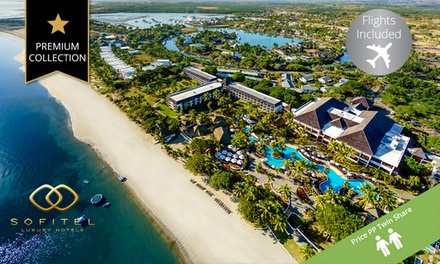 Fiji: ,149 Per Person for a FiveNight Stay at 5* Sofitel Fiji Resort and Spa Hotel with Flights and Breakfast