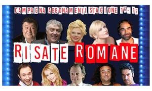 """Teatro Tirso de Molina: Abbonamento stagionale """"Risate Romane"""" al Teatro Tirso de Molina di Roma (sconto fino a 60%)"""