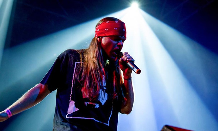 Appetite for Destruction – Guns N' Roses Tribute on Friday, May 17, at 8:30  p m