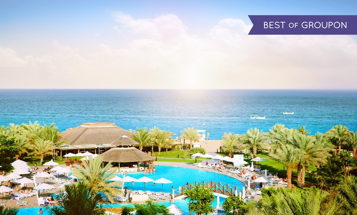Fujairah: 1 or 2 Nights for Two with Breakfast at the 5* Fujairah Rotana Resort