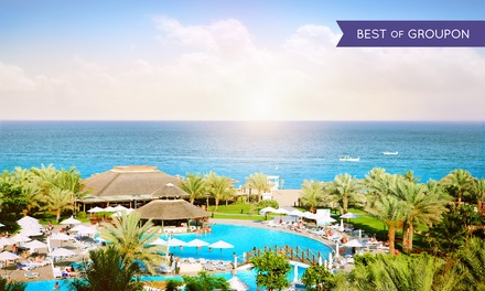 Fujairah: 1 or 2 Nights for Two with Breakfast at the 5* Fujairah Rotana Resort