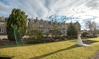 The Enchanting Highland Wedding Package for 60 Day and 90 Evening Guests and Two Bedrooms at Nethybridge Hotel