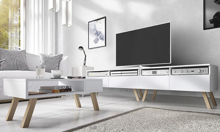tot 55% op scandinavische design tv-meubels | groupon producten