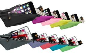 Gear Beast Sports Waist Pack Running Belt With Smartphone Pocket