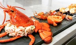 Ristorante La Barchetta: Menu pesce di 4 portate con vino per 2 o 4 persone al ristorante La Barchetta di Mozzo (sconto fino a 65%)