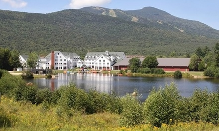 groupon daily deal - Stay at Town Square Condominiums in Waterville Valley, NH. Dates into June.