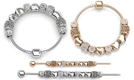 1 of 2 armbanden van My Charms met kristallen van Swarovski®