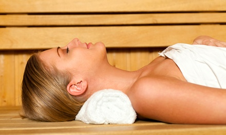One, Three, or Five 60-Minute Infrared Sauna Sessions from Exhale at Revolution Fitness (Up to 71% Off)