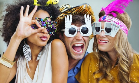 Two- or Four-Hour Open-Air Photo Booth Rental from Clementine Photo Booths (Up to 55% Off) 58f066d5-c6c5-4877-9a14-88dc0b11b636