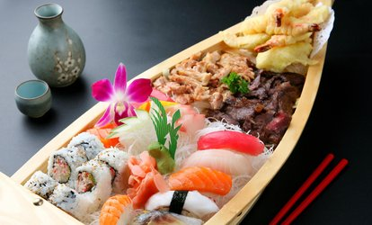 immagine per Menu sushi in formula All You Can Eat con calice di vino per 2 o 4 persone al ristorante Xiao