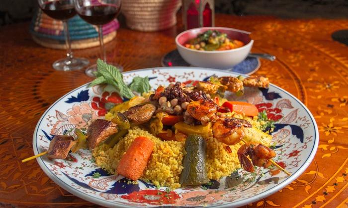 Moroccan Prix Fixe Dinner Alir Inc