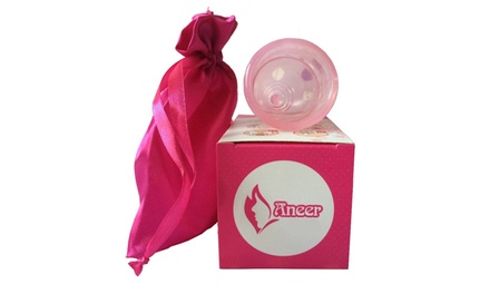 One or Two Medical Silicone Menstrual Cups