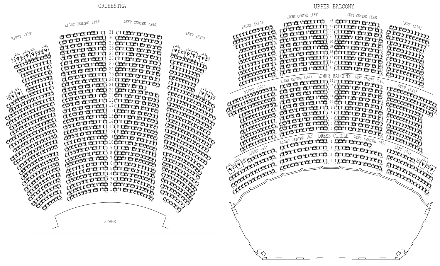 orpheum vancouver seating chart: Pok mon symphonic evolutions in vancouver bc groupon