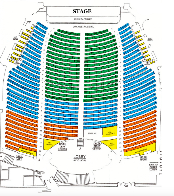 Majestic Theater San Antonio Seating Chart Majestic
