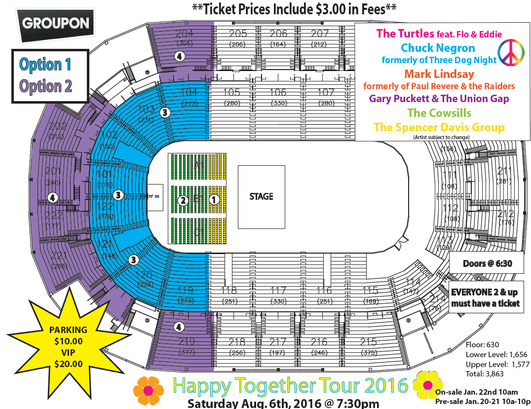 Happy together tour 2016 in st charles mo groupon