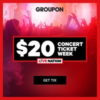 $20 Concert Ticket Week