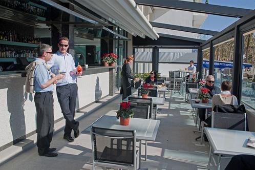 Hotel calipolis sitges for Layout della palestra di 2000 piedi quadrati