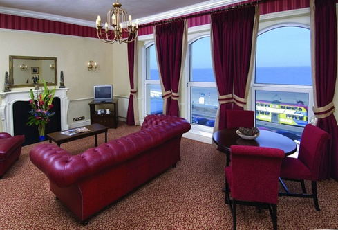 What Is A Feature Double Room At The Imperial Blackpool
