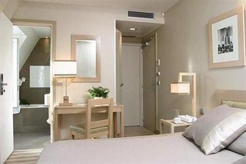 Hotel duret paris - Chambre mur taupe ...