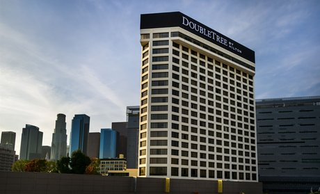 Groupon Doubletree By Hilton Hotel Los Angeles Downtown