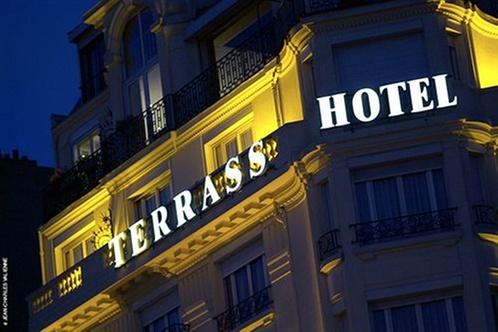 Terrass 39 39 Hotel Montmartre By Mh Paris