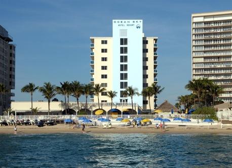 Ocean Sky Hotel And Resort Fort Lauderdale