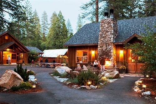 Evergreen lodge yosemite groveland for Yosemite valley cabins