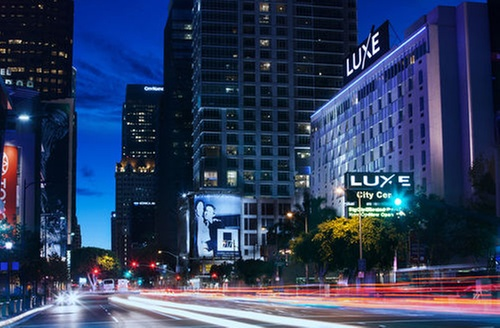 Luxe City Center Hotel Los Angeles Ca