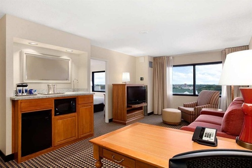 Hilton chicago oak brook suites oakbrook terrace for 1000 drury lane oakbrook terrace illinois 60181