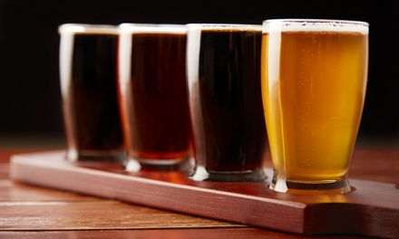 $14 for Beer Tasting with Two Flights of Beer and a Pretzel at Sister Lakes Brewing Company ($24 Value)