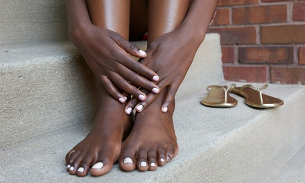 Gel Manicure or Pedicure or Both at Advanced Beauty by Lauren Williams (Up to 53% Off)
