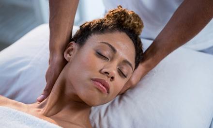 $29 Min Neck and Shoulder Massage + 30Min Foot Spa at Ao Massage Up to $70 Value