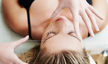 One or Three Eyebrow Threading Sessions at Brazilia Skin Care (Up to 44% Off)