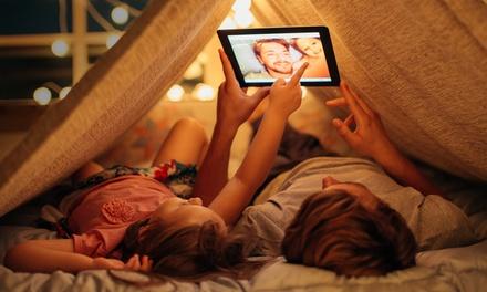 Fiesta de pijamas a domicilio con 2 o 3 tipis para 4 o 6 niños desde 49,95 € con Diver Tipis